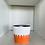 Thumbnail: Bowl Dedos H10cm