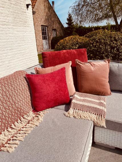 Mixed Cushions Pink