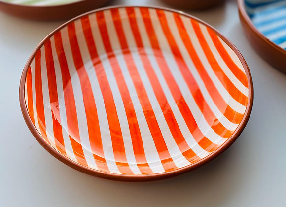 Large Stripe Bowl