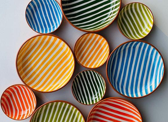 Large Stripe Bowl
