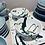 Thumbnail: Rectangular Plate Green splash