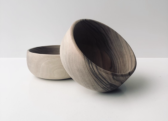 Wooden bowl large