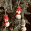 Thumbnail: Snowman with scarf set of 3