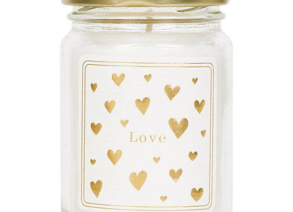 Mini scented candle 'Love'