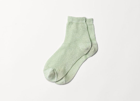 Glitter Scarlet Socks Patina Green