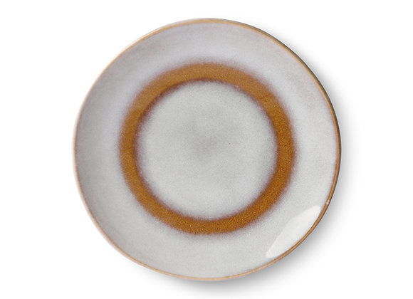 Dessert plate, snow