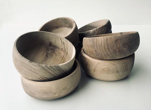 Wooden bowl medium