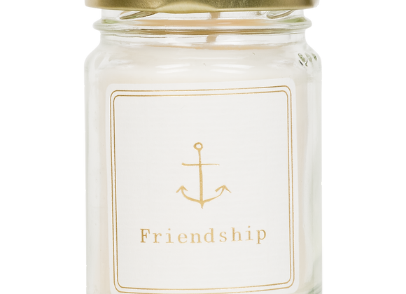Mini scented candle 'Friendship'