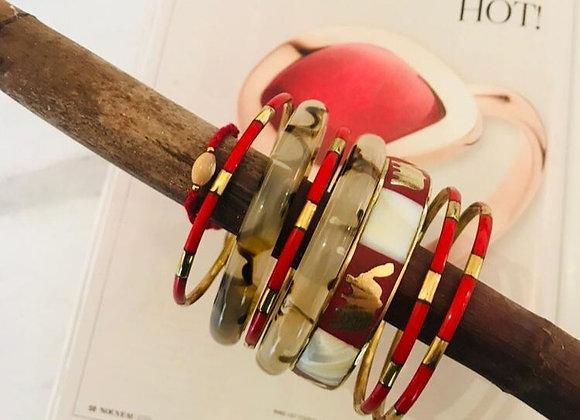 Bracelet S Blue/Red