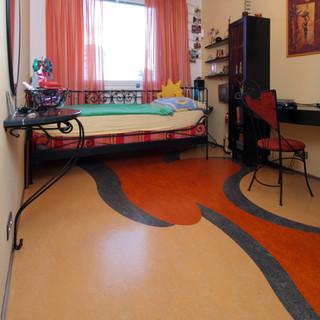 MARMOLEUM v študentskej izbe