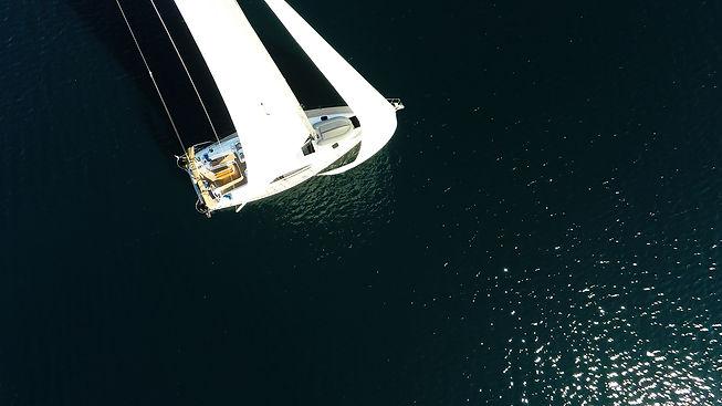 bird view sailboat sailing yacht sails.j