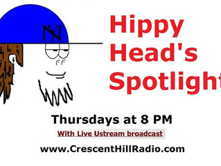 War Panties on Hippy Head Radio!