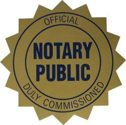 Notary (In The State Of California)