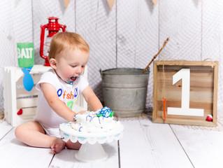 Corbin's First Birthday!