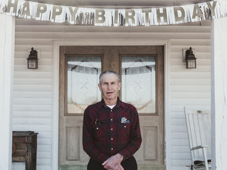 Grandpa Kenny's 80th Birthday!