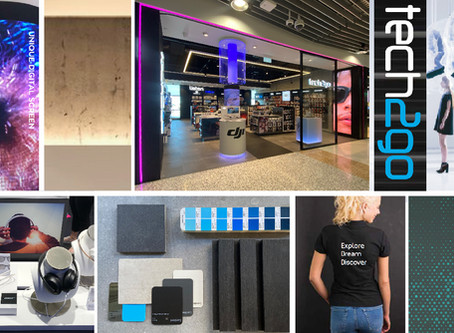 LED innovations in retail interiors.