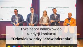 """4. edycja Nagrody """"Człowiek wiedzy i doświadczenia"""" Koalicji Liderzy Pro Bono"""