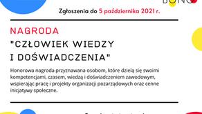 """5. edycja Nagrody """"Człowiek wiedzy i doświadczenia"""" Koalicji Liderzy Pro Bono."""
