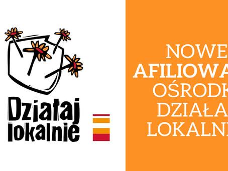 Nowe Afiliowane Ośrodki Działaj Lokalnie dołączyły do sieci!