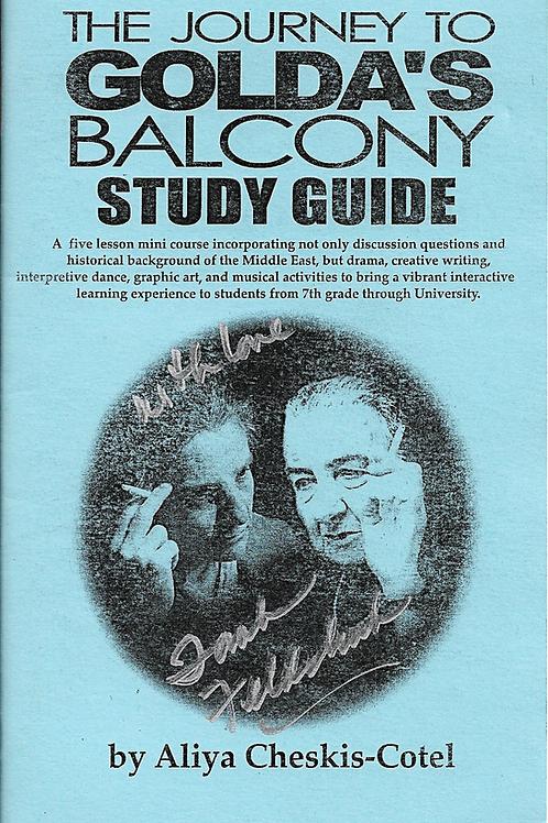 GOLDA'S BALCONY STUDY GUIDE