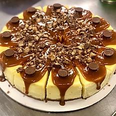 NY Style Turtle Cheesecake