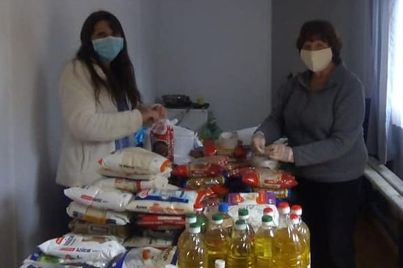 Almuerzo solidario Curaumilla