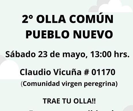 Olla Común Pueblo Nuevo