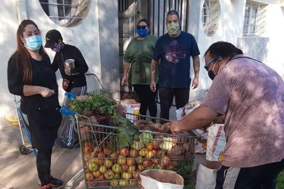 Olla común Barrio San Eugenio