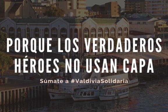 Campaña Valdivia Solidaria