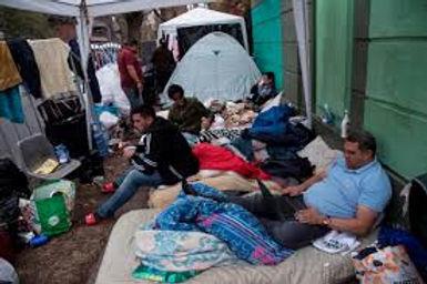 Campaña por migrantes en espera de retorno
