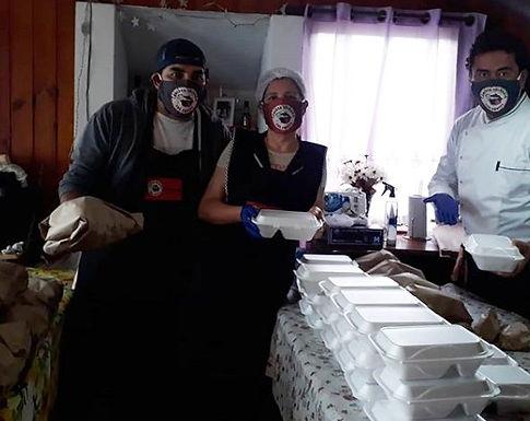 Comedor solidario Las Cruces