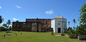 Castelo Garcia Davila na Praia do Forte