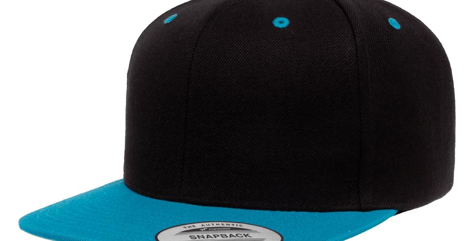 Snapback Cap 2 Tone - 6089MT