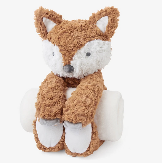 Swirl Fox Bedtime Huge Plush Toy