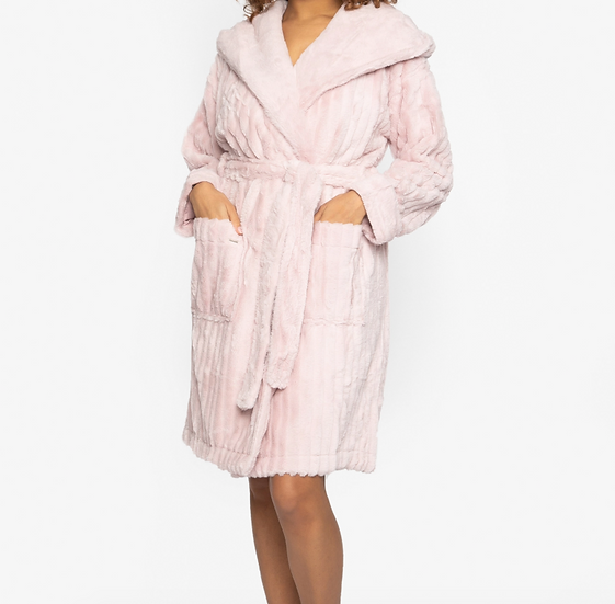 Pink Cloud Robe