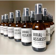 Viral Assassin Hand Sanitizer Spray