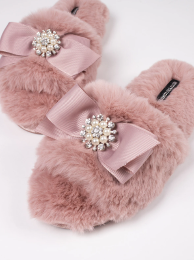 Pink Anya Slippers