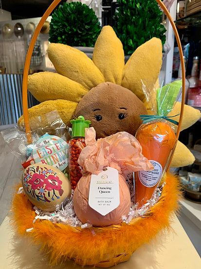 Sunflower Easter Basket