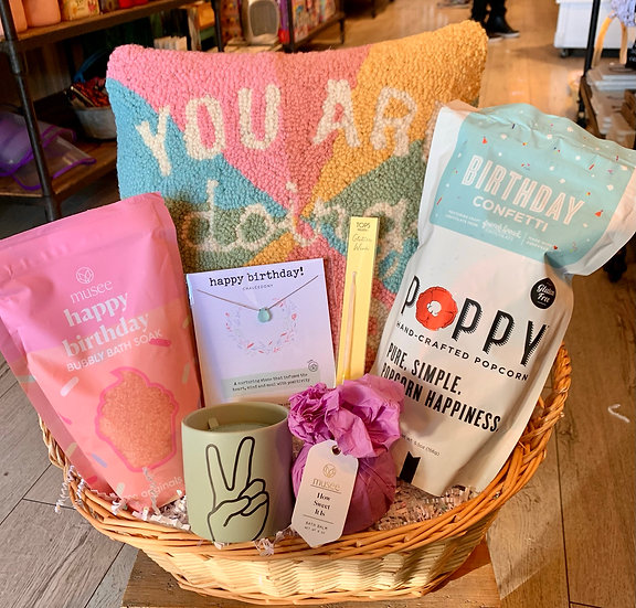You Are Doing Great Birthday Basket