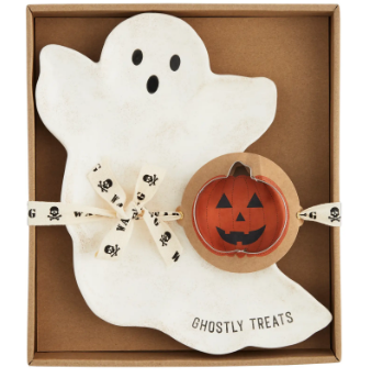Ghost Cookie Plate Set