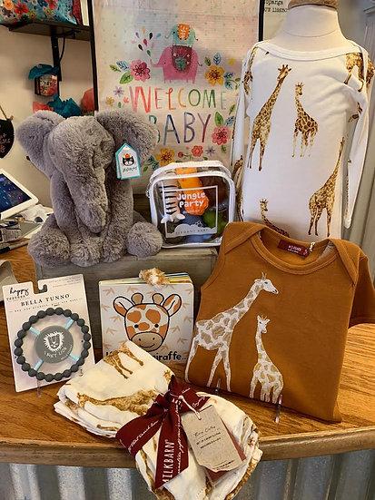 Safari Baby Gift Set
