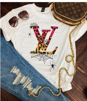 LV Halloween Tee Shirt