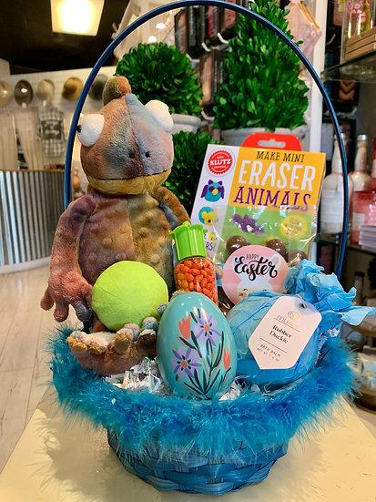 Chameleon Easter Basket