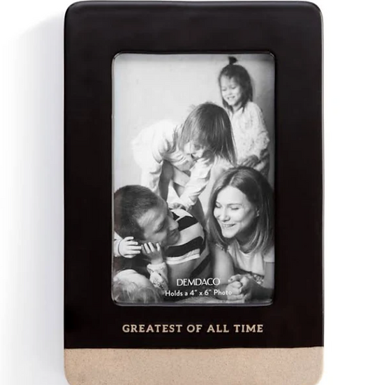 Greatest Of All Time Picture Frame