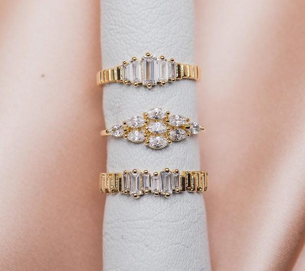 Supreme Baguette Ring