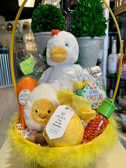 Chicken and Egg Easter Basket