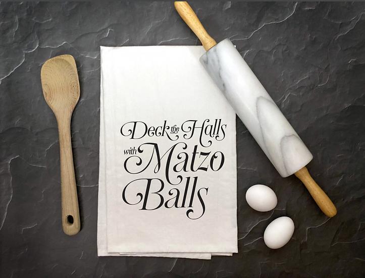 Deck the Halls with Matzo Balls