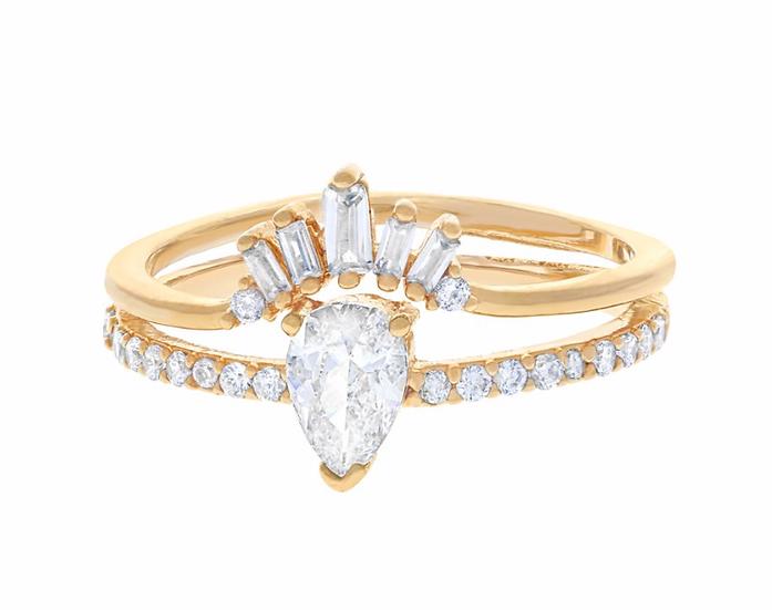 Gold Illuminated Ring