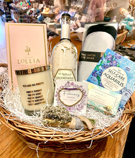 Special Birthday Gift Basket