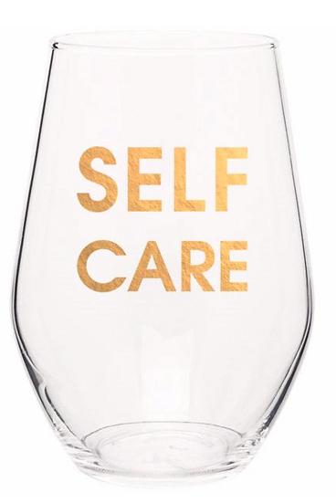 Chez Gagne Stemless Wine Glasses